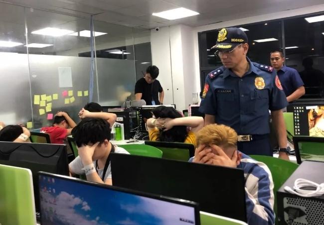 菲警方昨晚突击拘捕500多人:通过网络在中国大陆实施诈骗